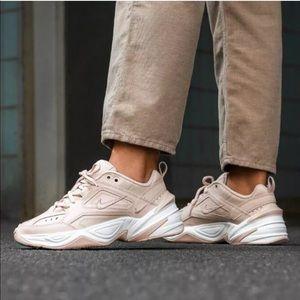 Women's Nike M2K Tekno Particle Beige Sneakers